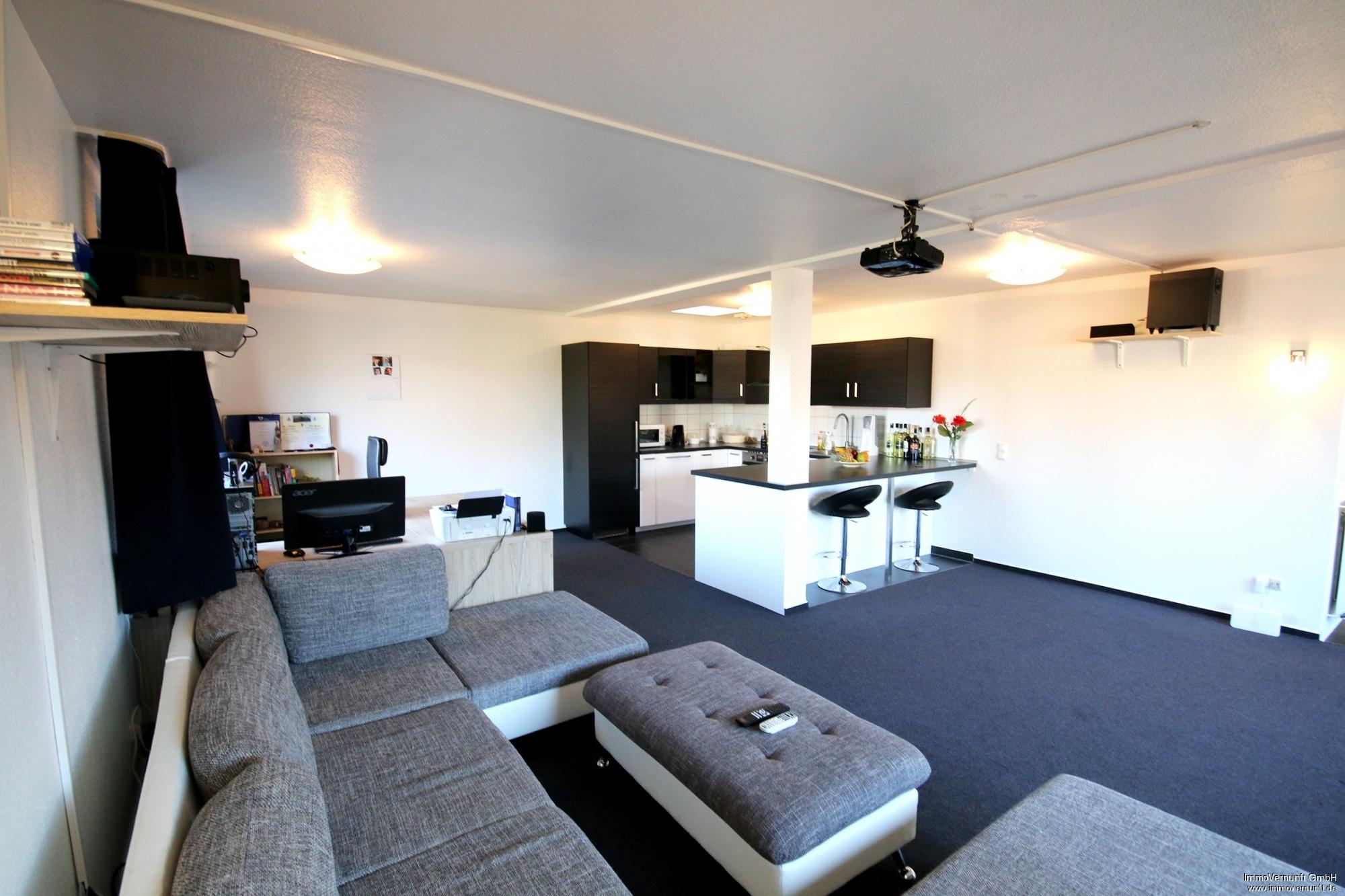 penthousewohnung in oberhausen, 155.000 euro, 98 m², Wohnzimmer dekoo