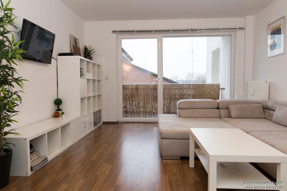 Zentral gelegene 78m² große drei Zimmer Wohnung mit Südbalkon 45473 Mülheim an der Ruhr, Etagenwohnung